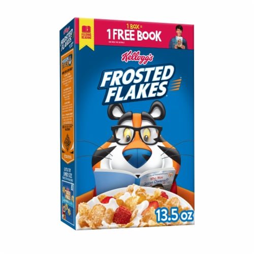 Kellogg's Frosted Flakes Breakfast Cereal Original Perspective: front