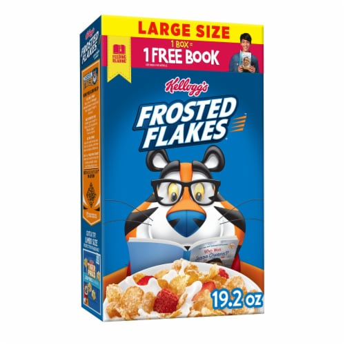 Frosted Flakes Cereal Perspective: front