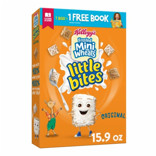 Frosted Mini-Wheats Original Little Bites Cereal Perspective: front