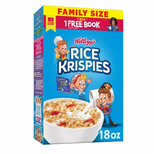 Kellogg's Rice Krispies Breakfast Cereal Original Perspective: front