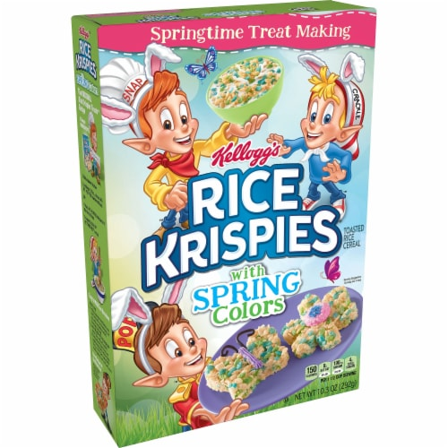 Rice Krispies Spring Colors Cereal Perspective: front