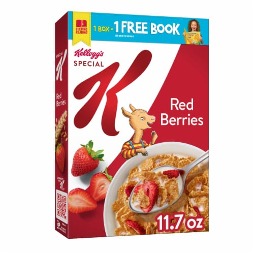 Kellogg's Special K Breakfast Cereal Red Berries Perspective: front