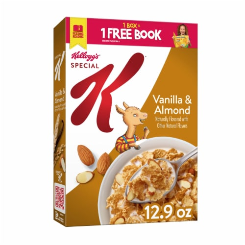 Kellogg's Special K Breakfast Cereal Vanilla and Almond Perspective: front