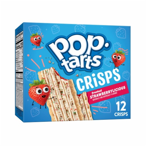 Kellogg's Pop-Tarts Crisps Frosted Strawberrylicious Perspective: front