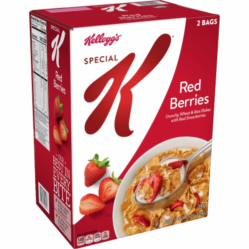 Special K Red Berries Cereal Perspective: front