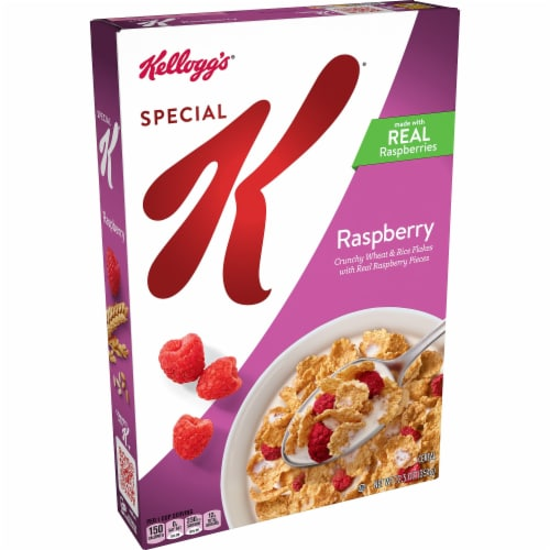 Special K Raspberry Cereal Perspective: front