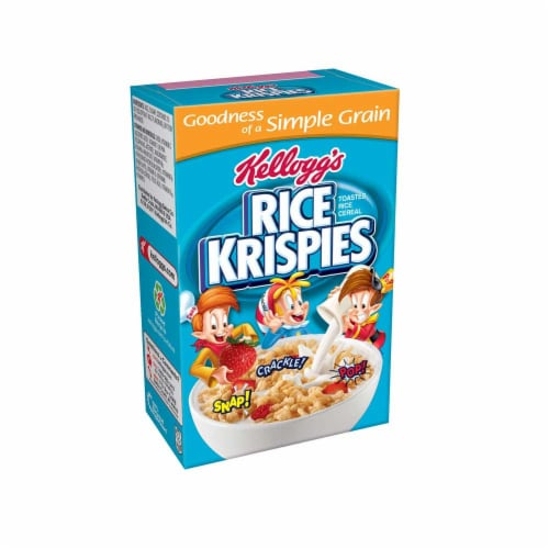 Rice Krispie Cereal 0.88 Ounce Each -- 72 Per Case Perspective: front