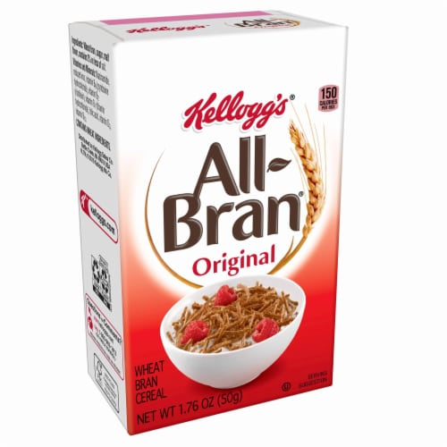 Cereal All Bran 72 Case 1.75 Ounce Perspective: front