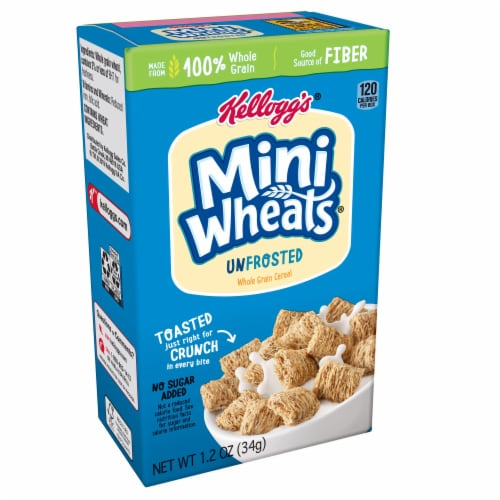 Cereal Shredded Miniature Wheats,  1.2 Ounce Each -- 70 Per Case Perspective: front