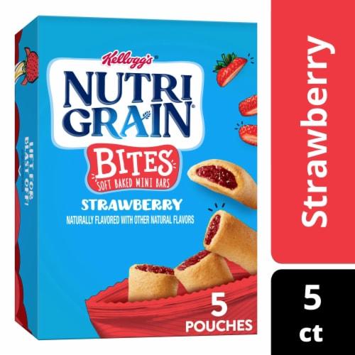 Nutri-Grain Kids Strawberry Blast Soft Baked Mini Breakfast Bars Perspective: front