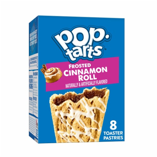 Pop-Tarts Frosted Cinnamon Roll Toaster Pastries Perspective: front