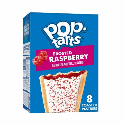 Pop-Tarts Frosted Raspberry Toaster Pastries Perspective: front