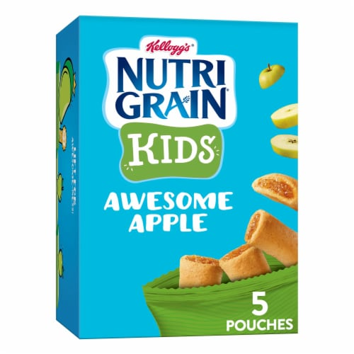 Kellogg's Nutri-Grain Bites Apple Mini Breakfast Bars Perspective: front