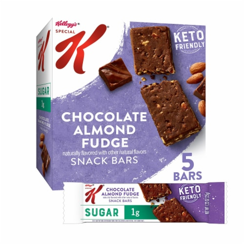 Special K Chocolate Almond Fudge Snack Bars Perspective: front