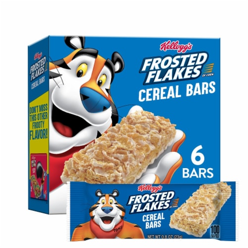 Frosted Flakes Cereal Bars Perspective: front