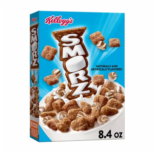 Kellogg's Smorz Crunchy Graham Cereal Perspective: front