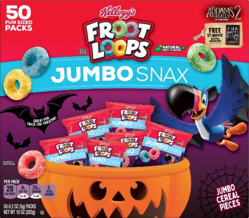 Kellogg's® Froot Loops® Snacking Cereal Perspective: front