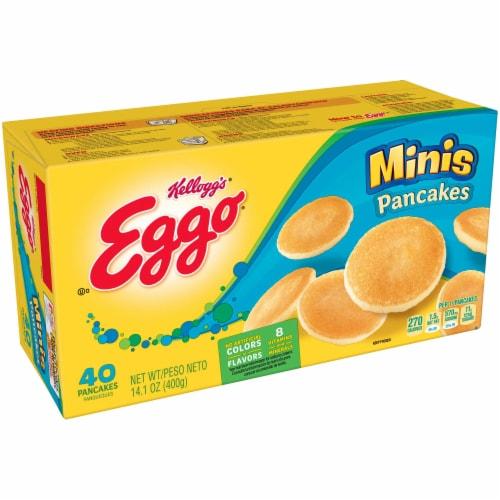 Kelloggs Eggo Buttermilk Minis Pancakes Perspective: front
