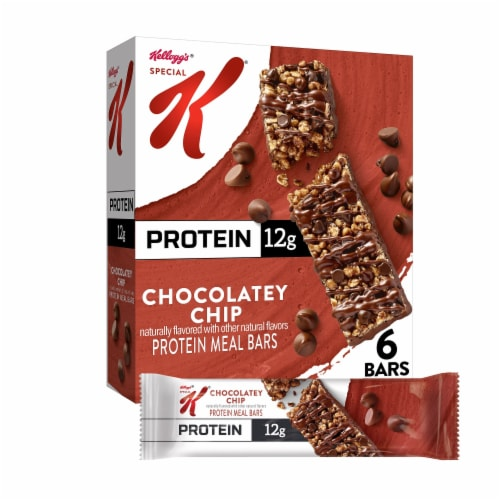 Special K Chocolatey Chip Protein Meal Bars Perspective: front