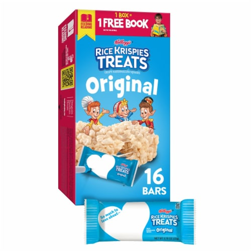 Kellogg's Rice Krispies Treats Marshmallow Squares Original Value Pack Perspective: front