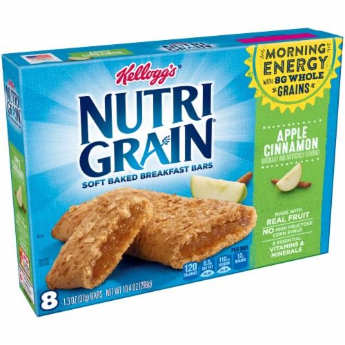 Nutri-Grain Apple Cinnamon Soft Baked Breakfast Bars Perspective: front