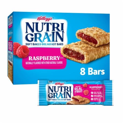 Nutri-Grain Raspberry Soft Baked Breakfast Bars Perspective: front