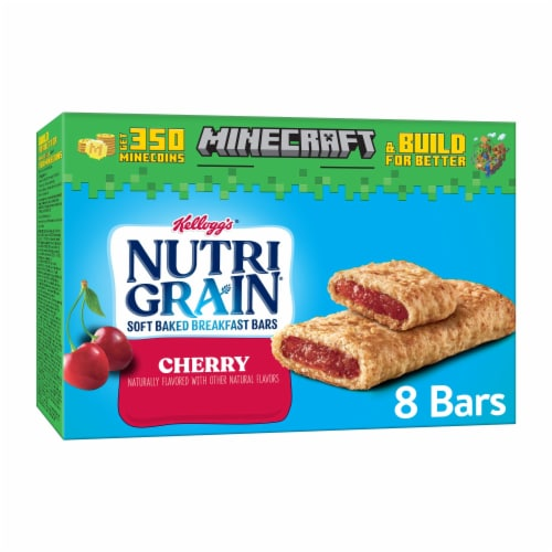 Kellogg's Nutri-Grain Soft Baked Breakfast Bars Cherry Perspective: front