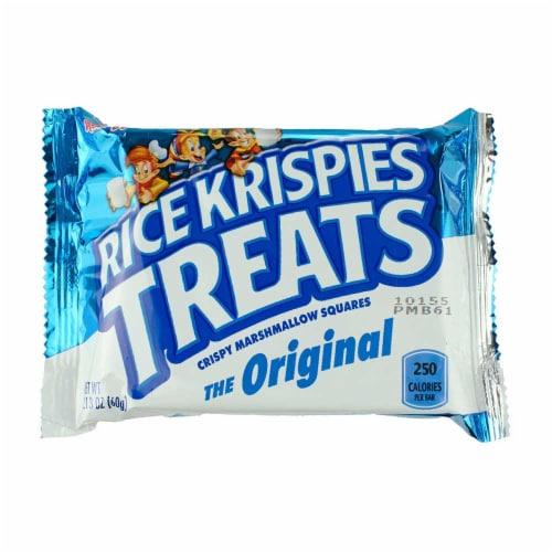 Kelloggs Rice Krispie Treats Original Bar - 12 per pack -- 4 packs per case. Perspective: front
