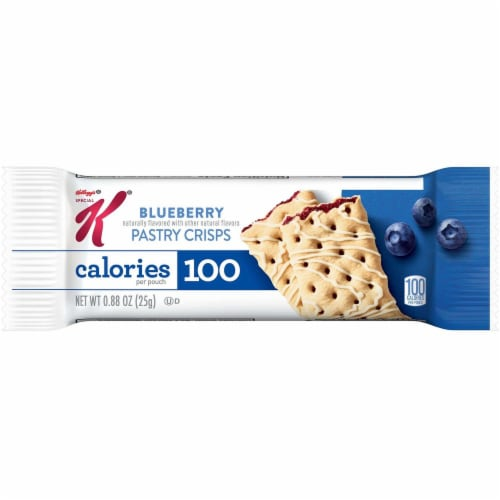 Special K Blueberry Fruit Crisp Bar, 0.88 Ounce -- 81 per case. Perspective: front