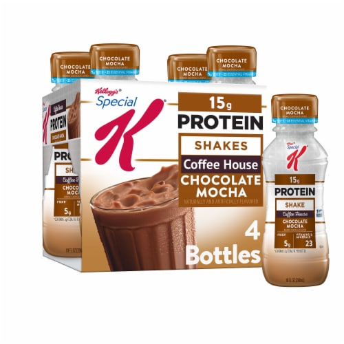 Special K Chocolate Mocha Protein Shakes Perspective: front