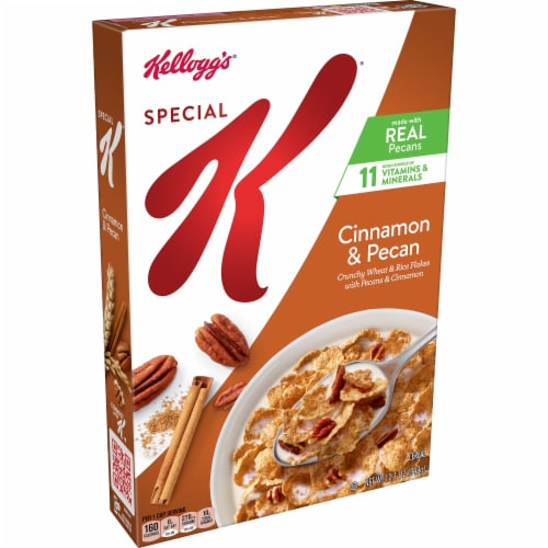 Kellogg's Special K Cinnamon and Pecan Breakfast Cereal Perspective: front