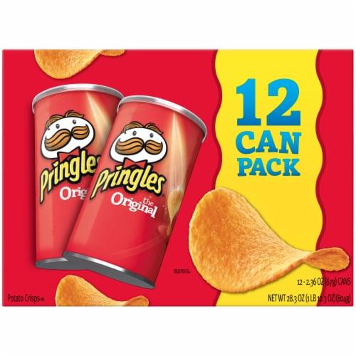 Pringles Potato Crisps Chips Original Multi-Pack Perspective: front