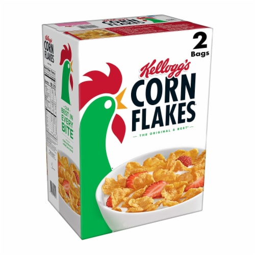 Kellogg's Corn Flakes Cereal Perspective: front