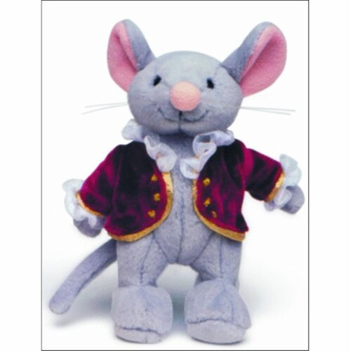 Alfred 00-14653 Music for Little Mozarts- Plush Toy- Mozart Mouse Perspective: front