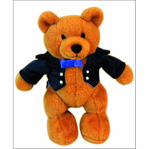 Alfred 00-14654 Music for Little Mozarts- Plush Toy- Beethoven Bear Perspective: front