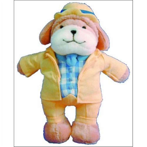Alfred 00-17487 Music for Little Mozarts- Plush Toy- Puccini Pooch - Music Book Perspective: front
