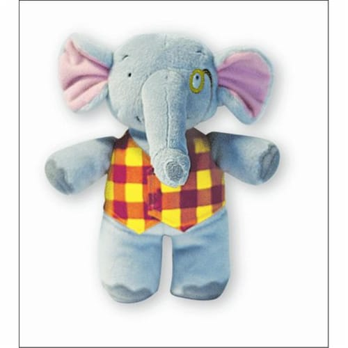 Alfred 00-21228 Music for Little Mozarts- Plush Toy- Elgar E. Elephant - Music Book Perspective: front