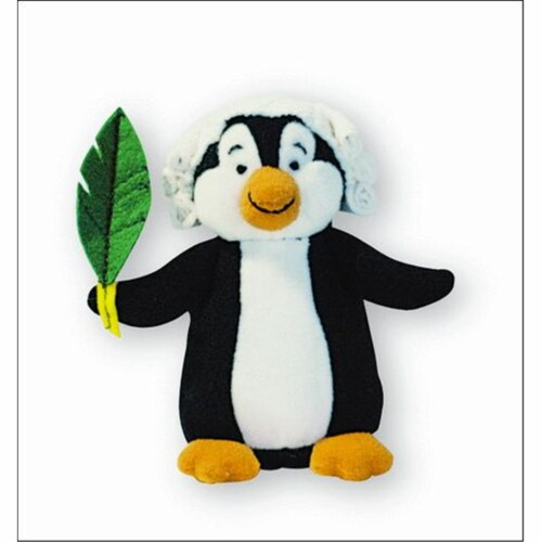Alfred 00-21230 Music for Little Mozarts- Plush Toy- Pachelbel Penguin - Music Book Perspective: front
