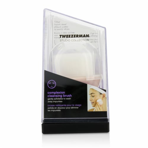 Tweezerman Complexion Cleansing Brush (Studio Collection) 1pc Perspective: front