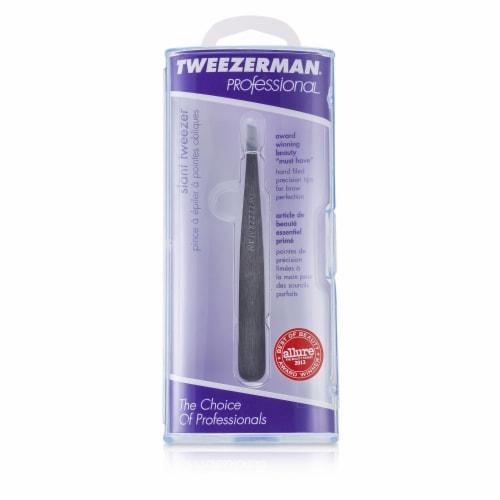 Tweezerman Professional Slant Tweezer - Perspective: front