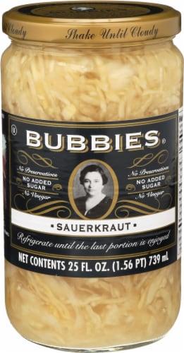 Bubbies Sauerkraut Perspective: front
