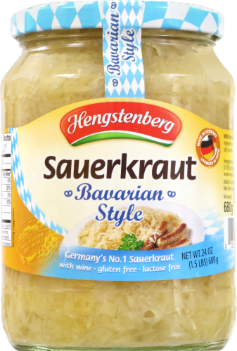 Hengstenberg Bavarian Style Sauerkraut With Wine Perspective: front