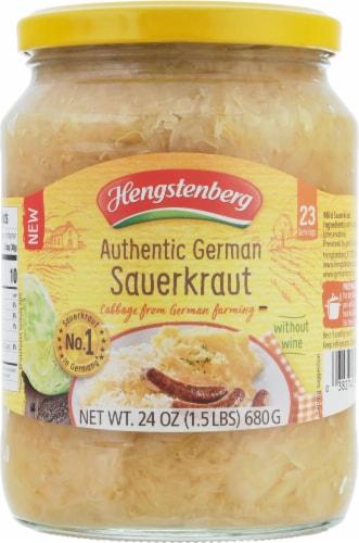 Hengstenberg Authentic German Sauerkraut Perspective: front