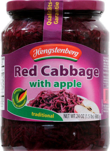 Hengstenberg Traditional Red Cabbage With Apples Perspective: front