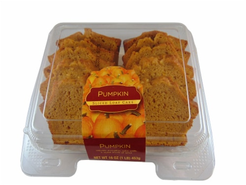 CSM Bakery Products Pumpkin Sliced Loaf Cake Perspective: front