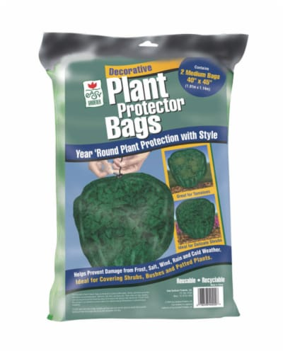 Easy Gardener Plant Protector Bags - 2 Pack - Green Perspective: front