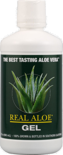 Real Aloe Gel Perspective: front