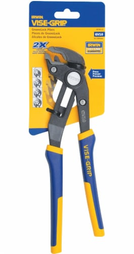 Irwin Vise-Grip® Blue/Yellow Groove Lock Pliers Perspective: front