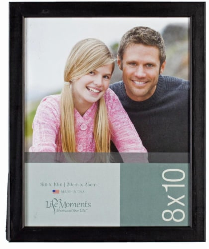 Pinnacle Life Moments Picture Frame - Black Perspective: front
