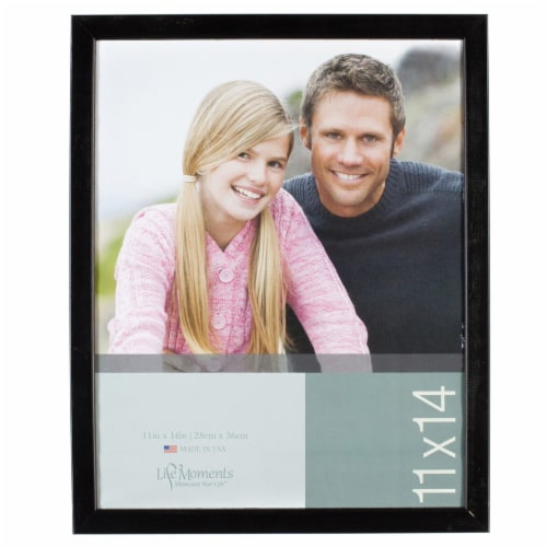 Pinnacle Life Moments Wood Wall Frame - Black Perspective: front